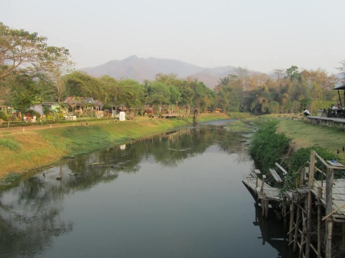 Pai walking bridge